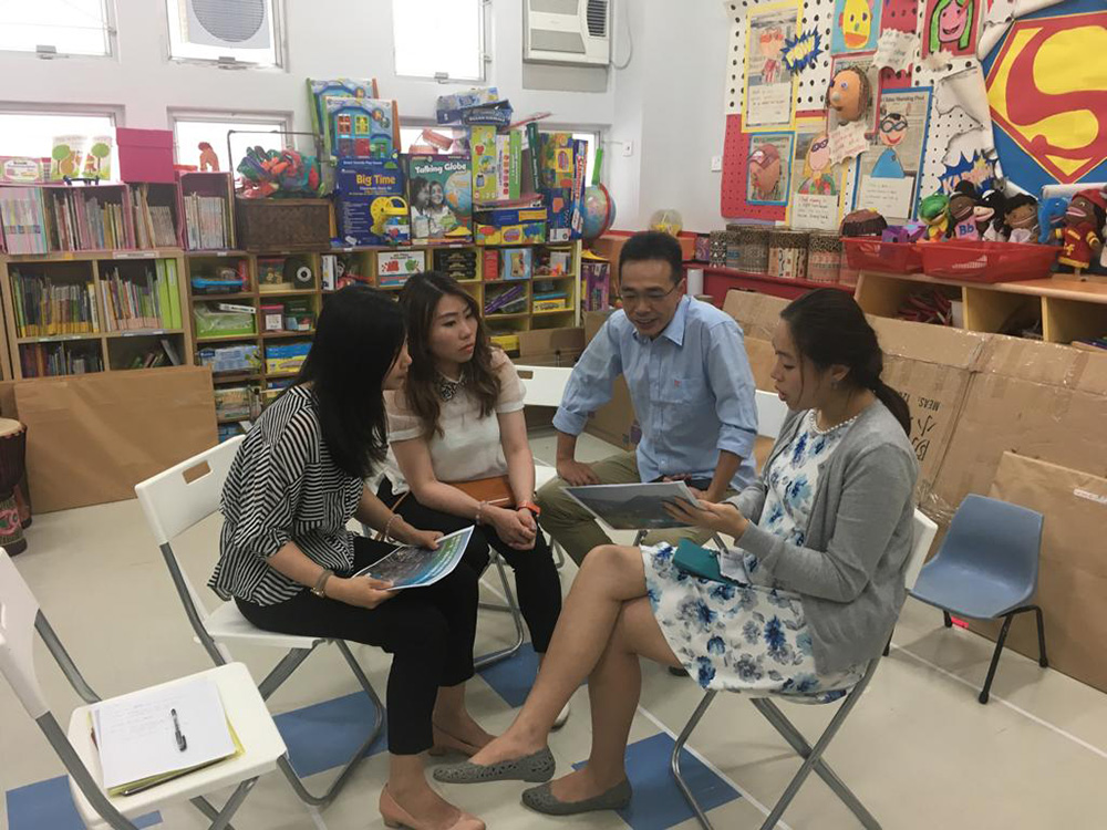 Meeting with nearby kindergarten on 4 Jun 2019