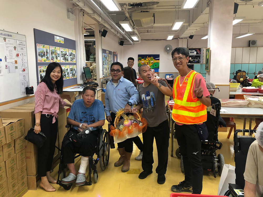 Mid‐Autumn Festival Volunteer Visit Service on 11 Sep 2019