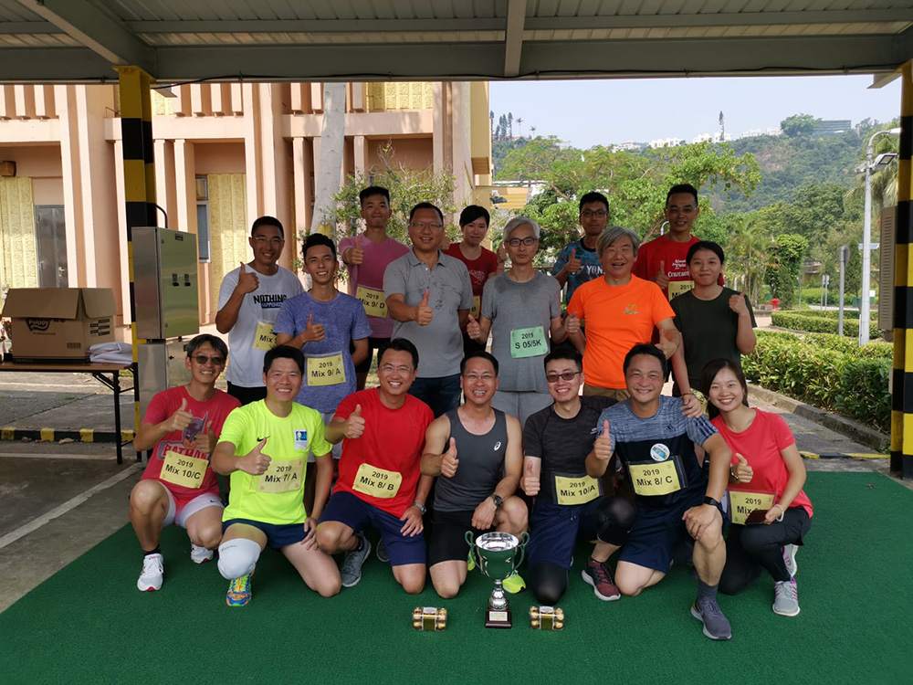 Drainage Services Department Fun Run on 29 September 2019 to celebrate DSD's 30<sup>th</sup> Anniversary