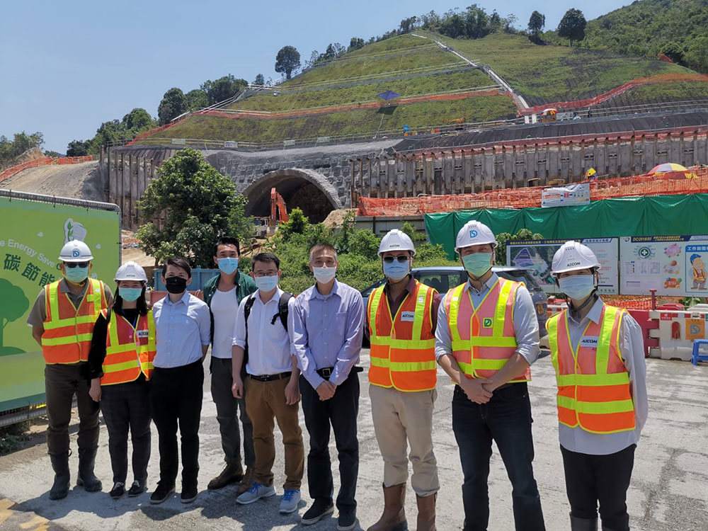 Site visit of District Council Members on 28 Apr 2020