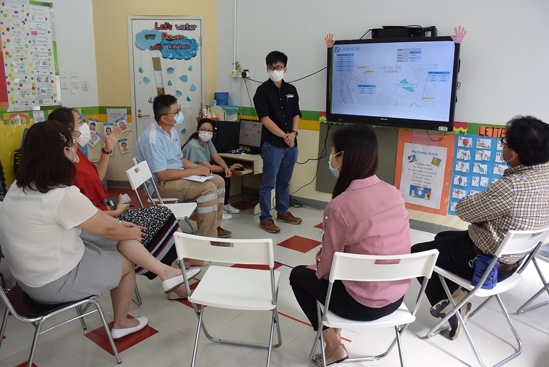 Meeting with nearby kindergarten on 19 Jun 2020